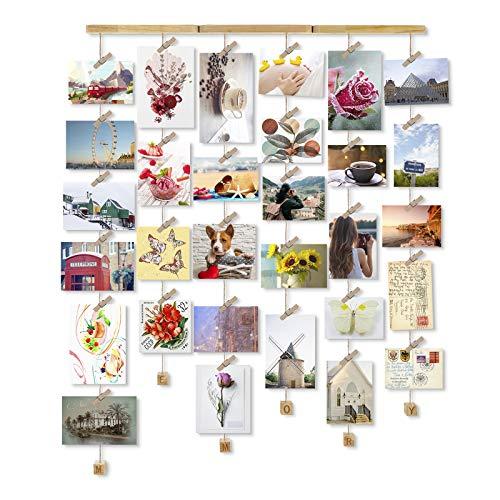 Love-KANKEI MEMORY Bilderrahmen Collage Fotor...