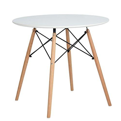 H.J WeDoo Esstisch Rund Küchentisch Modern R...