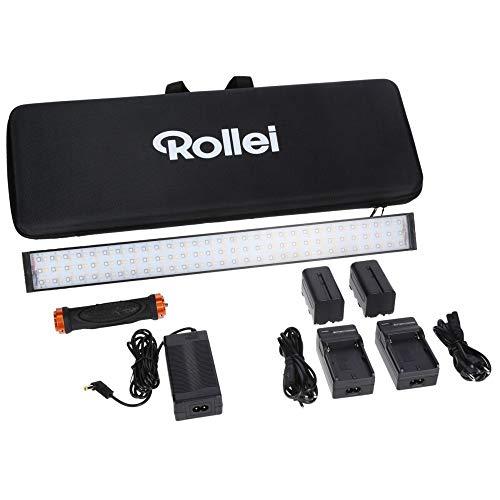 Rollei Lumen LED-Stableuchte I RGB Bi-Color V...