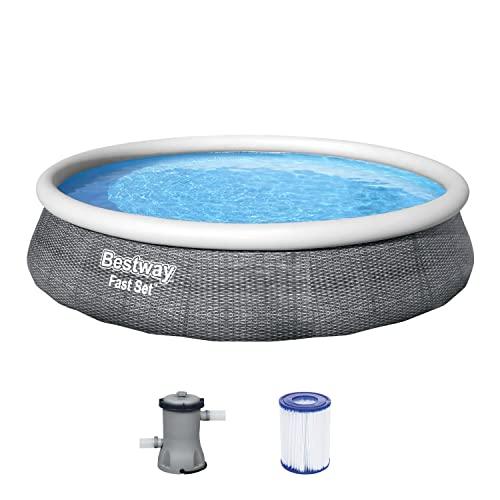 Fast Set Pool-Set, rund, mit Filterpumpe 396 ...