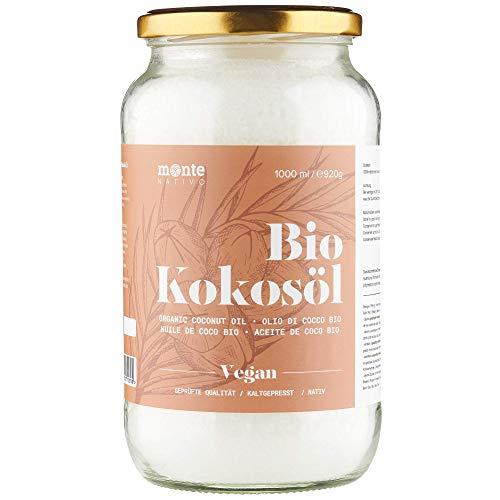 MonteNativo Bio Kokosöl - Bio Kokosfett, Bio...
