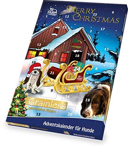 JR Farm Adventskalender für Hunde 110g Getre...
