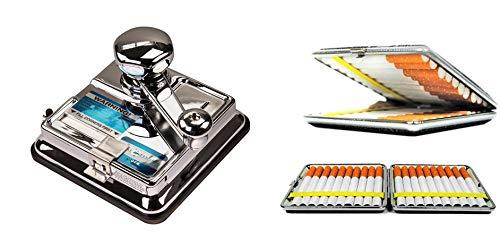 Stopfmaschine Mikromatic Duo inkl. Zigaretten...