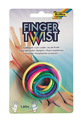 folia 33177 Finger Twist Fadenspiel, in Trend...