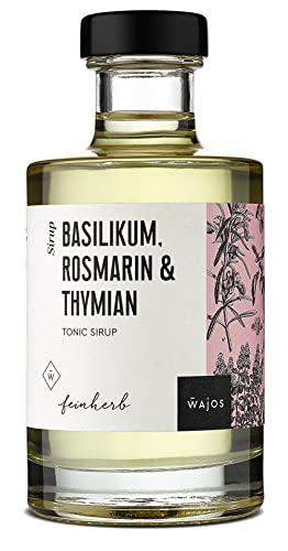 Tonic Sirup Basilikum Rosmarin & Thymian I Wa...