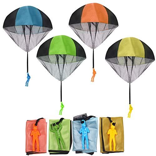 FUNVCE Fallschirm Spielzeug Kinder, 4 Stück ...