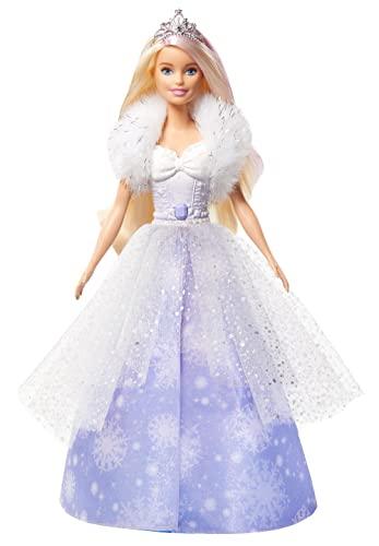 Barbie GKH26 - Dreamtopia Schneezauber Prinze...
