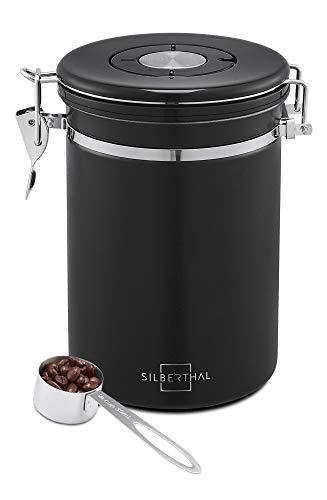 SILBERTHAL Kaffeedose 500g Edelstahl - luftdi...