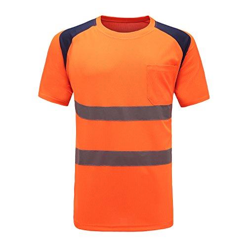Profi Warnschutz T-Shirt Kurzarm Arbeitsshirt...