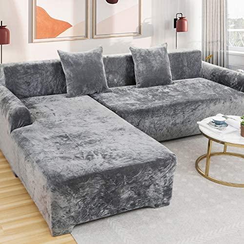 Velvet Plüsch Schonbezug Sofa, Stretch Sofa ...