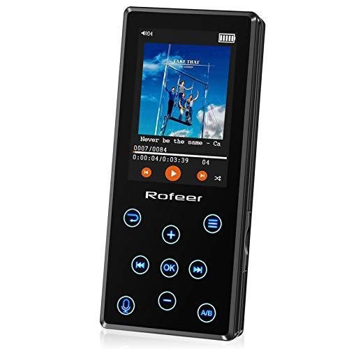 MP3 Player, 16GB MP3 Player mit Bluetooth 4.2...