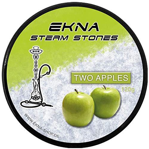EKNA® SteamStones Doppel-Apfel 120g - Hookah...