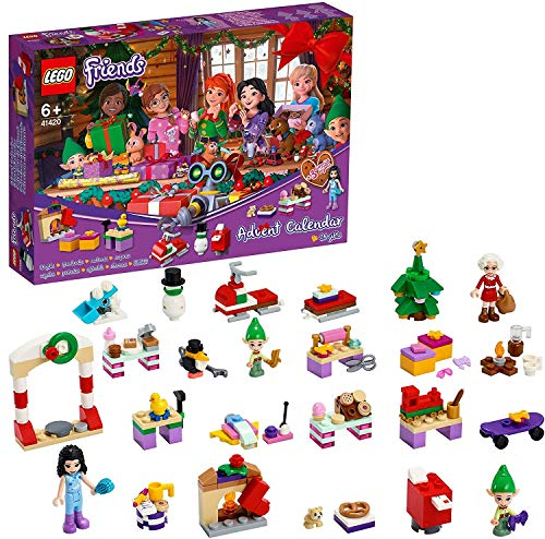 LEGO 41420 Friends Adventskalender 2020, Weih...