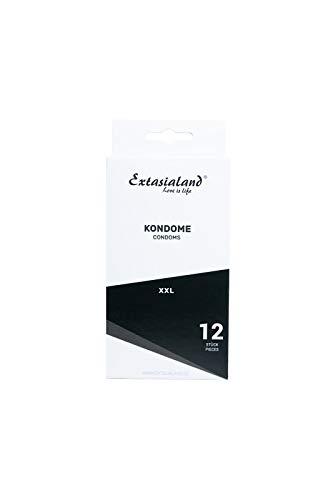 Extasialand 12er XXL Marken-Kondome glatt & t...