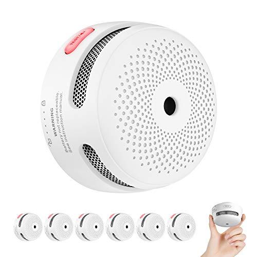 X-Sense Rauchmelder Mini Feuermelder mit 10 J...