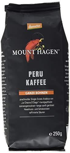 Mounthagen Röstkaffee Peru ganze Bohne (1 x ...