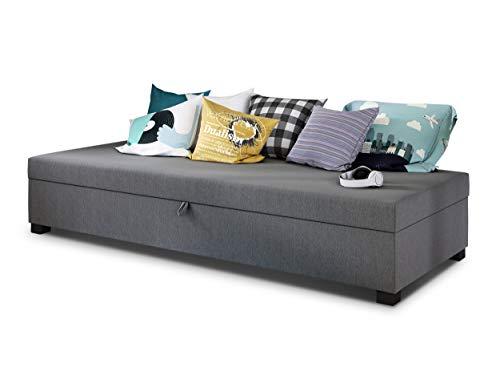 Einzelbett Misti - Sofa mit Bettkasten, Schla...