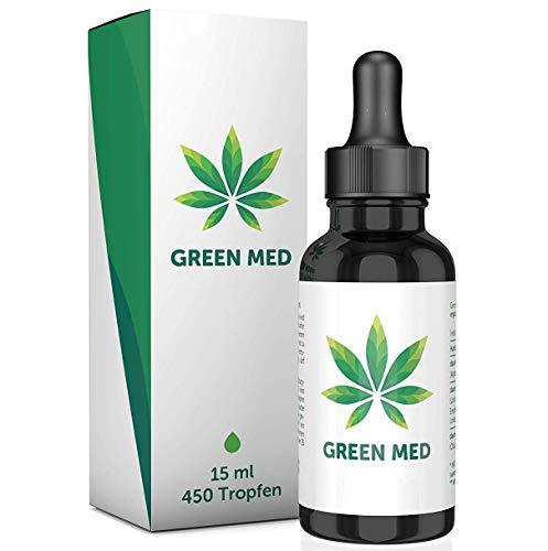 GREEN MED | 15 ml - 450 Tropfen | Premium | M...