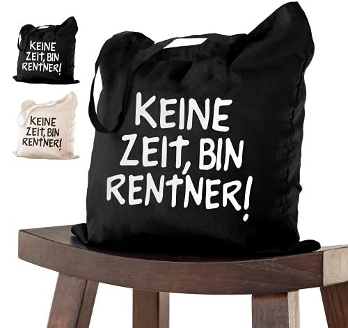 Abschiedsgeschenk RENTNER Tasche 38x42 zur Pe...