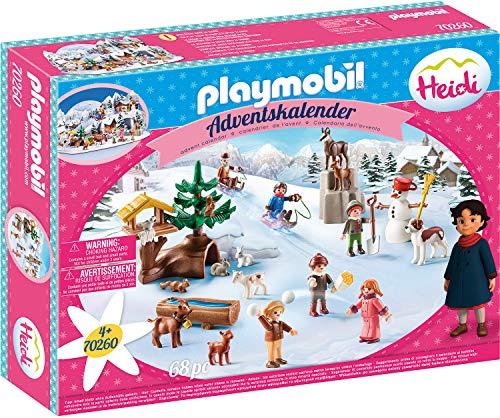 PLAYMOBIL Adventskalender 70260 Heidis Winter...