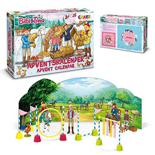 CRAZE Adventskalender 2020 BIBI & TINA Pferde...