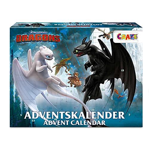 CRAZE Adventskalender 2020 DRAGONS Drachenzä...