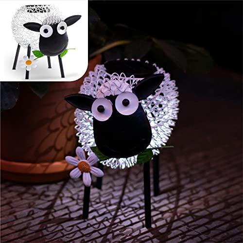 Gadgy Solarlampen für außen | Schaf gartend...