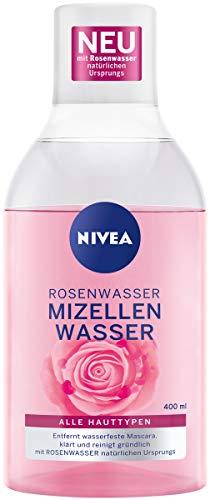 NIVEA Rosenwasser Mizellenwasser (400 ml), Ge...