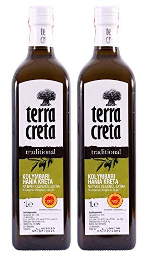2x 1,0l Terra Creta Olivenöl P.D.O. Kolymvar...