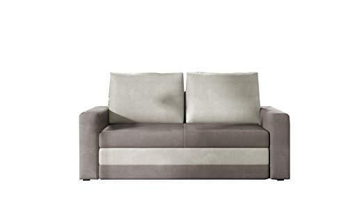 MOEBLO Sofa mit Schlaffunktion ohne Bettkaste...