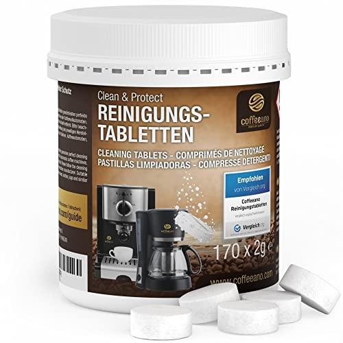 Coffeeano 170 Reinigungstabletten für Kaffee...