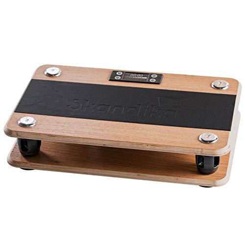 skandika Vibrationsplatte Virke aus Holz   Ei...