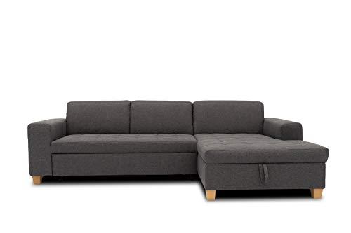 DOMO. collection Sugar Ecksofa | Sofa mit Sch...