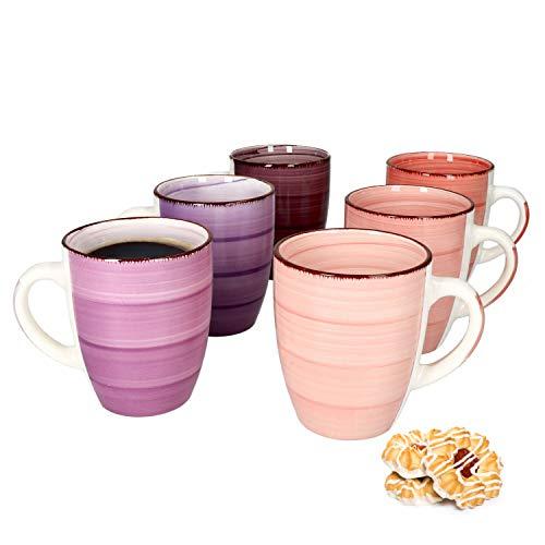 MamboCat Lila Baita 6-er Kaffee-Becher-Set I ...