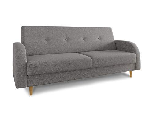 Schlafsofa Kelso - Sofa mit Bettkasten und Sc...