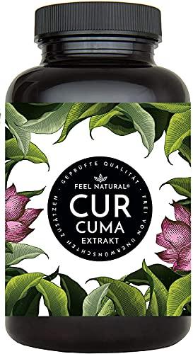 Curcuma Extrakt von FEEL NATURAL - (90 Kapsel...
