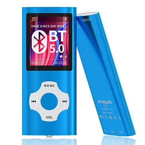 MYMAHDI Bluetooth 5.0 MP3/MP4-Player mit 32 G...