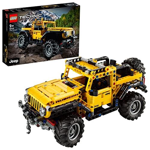 LEGO 42122 Technic Jeep Wrangler 4x4 Spielzeu...