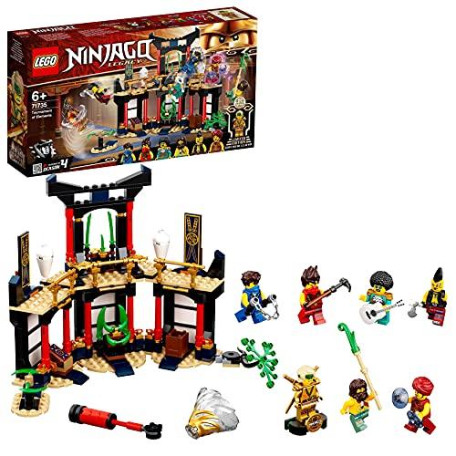 LEGO 71735 NINJAGO Turnier der Elemente Tempe...