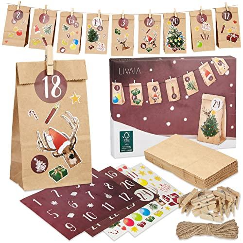 LIVAIA Adventskalender zum Befüllen: Schöne...