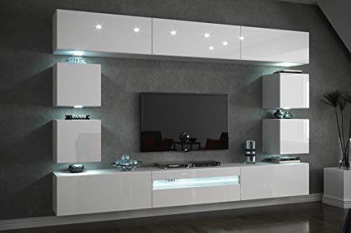 Furnitech Future C81 Wohnzimmer Wandschrank M...