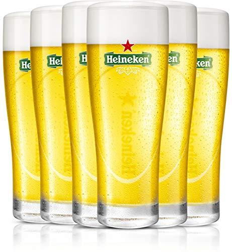 Heineken | Biergläser | 6-teiliges Set | Ell...