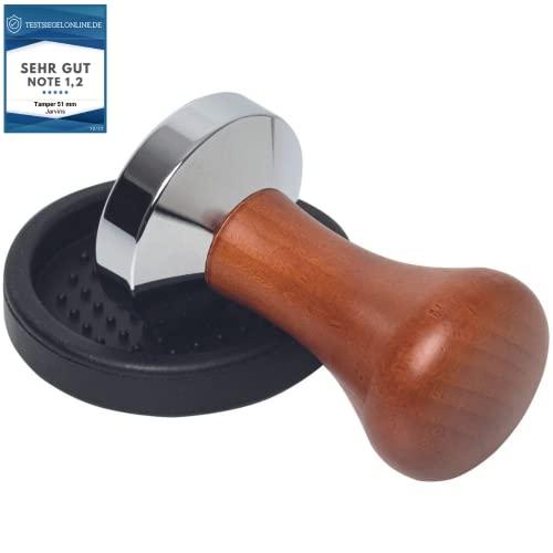 Tamper 51mm Espresso Set inkl. Tampermatte - ...