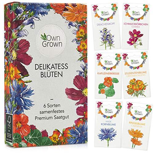 Essbare Blumen Samen Set: Premium Delikatess ...