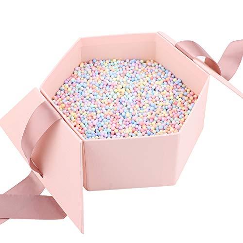 Geschenkbox mit Schleife, dekorative Leckerli...