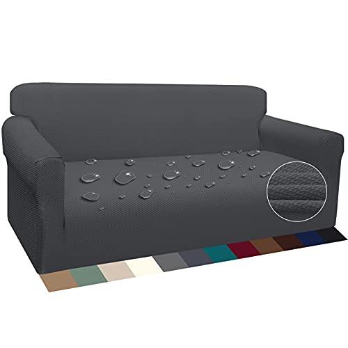 Luxurlife Wasserdicht Sofabezug 3 Sitzer Verd...